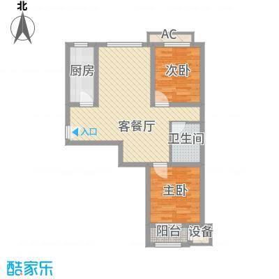 华北家园1号楼C户型