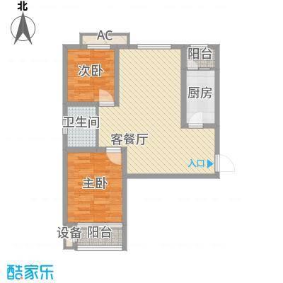 华北家园2号楼D户型