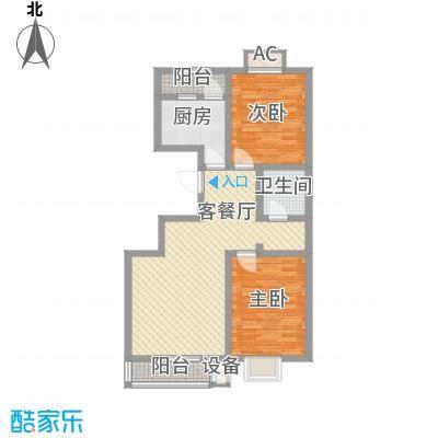 华北家园3、4号楼G户型