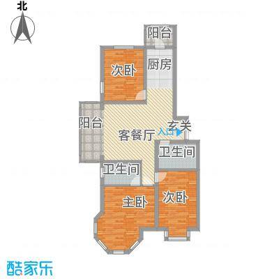 群力观江国际15、16号楼1单元、2单元户型