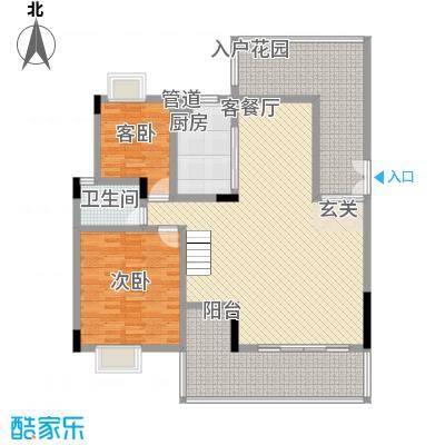 城市原筑户型3室