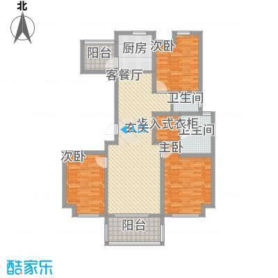 提香温泉小镇18#楼B户型