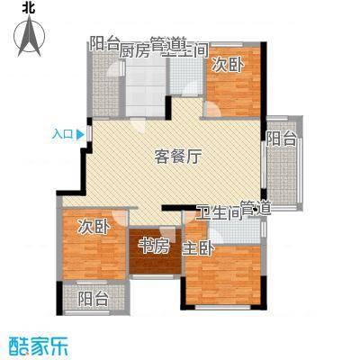 格林童话世界别墅141.00㎡三期洋房C户型4室2厅2卫