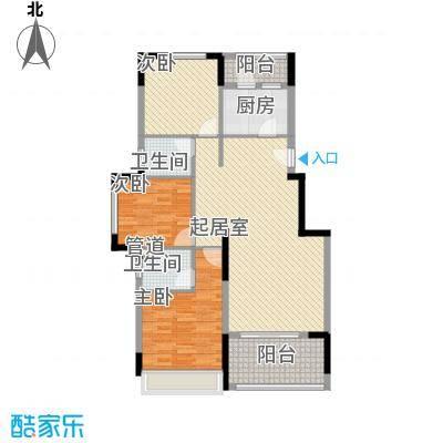 格林童话世界别墅112.00㎡三期洋房B3户型3室2厅2卫