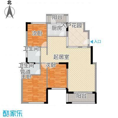 格林童话世界别墅126.00㎡三期洋房B2户型3室2厅2卫