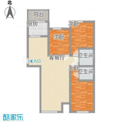 尚城国际5号楼C户型