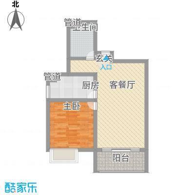 龙堂新苑72.00㎡14#户型