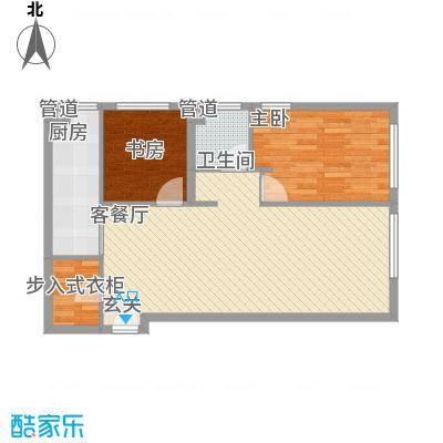 澳景蓝湾1.56㎡4号楼A反户型