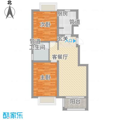 香醍溪岸三期2号楼、3号楼A户型