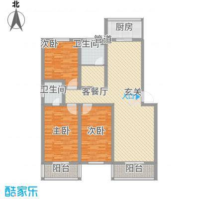钰泰九龙苑A9户型