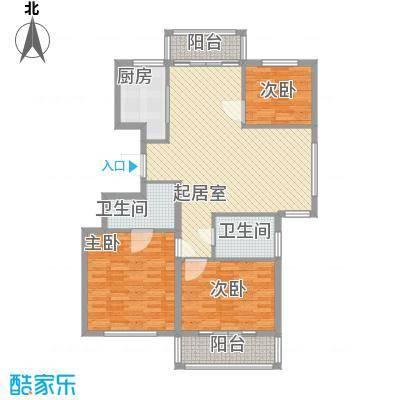 外海蝶泉山庄别墅131.56㎡A6号楼G户型3室2厅2卫