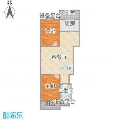 广阳-侨治花园110平米两局室