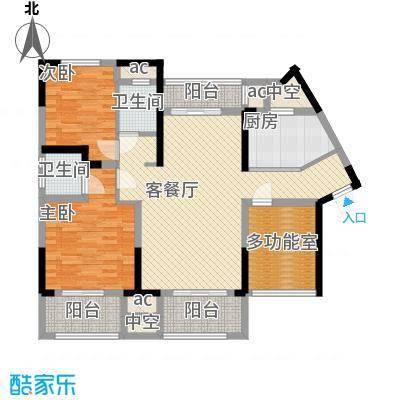 中航山水蓝天17-18#栋G1-1户型