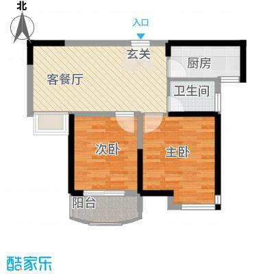 同人・怡和园一期15#楼标准层A1户型