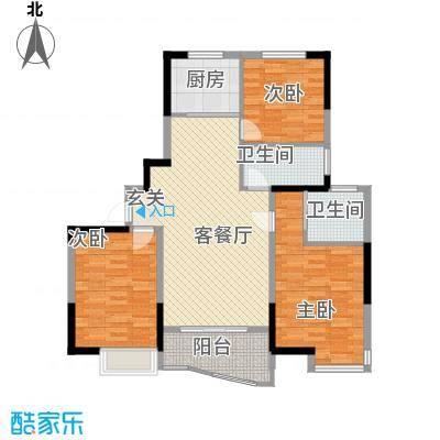 同人・怡和园一期10#楼标准层C1户型