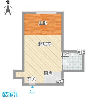 澳景蓝湾6.67㎡5号楼E户型