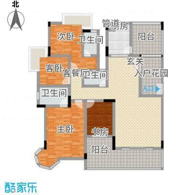 城市原筑户型4室