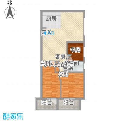 澳景蓝湾2.30㎡4号楼D户型