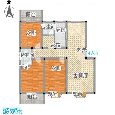 偃师龙腾花园1#楼-A户型