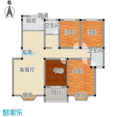 偃师龙腾花园6#楼-D户型