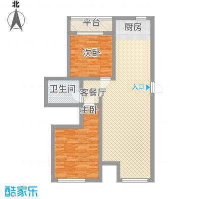 尚城国际2号楼D户型
