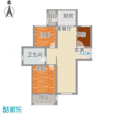 松江城玫瑰郡D户型
