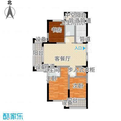 宝信润山136.00㎡户型
