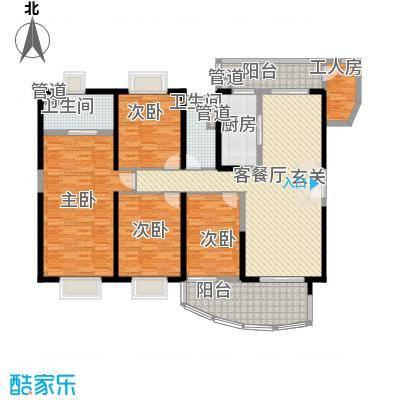 中海金沙熙岸15.00㎡清澜水境3座29-33层02户型4室2厅2卫