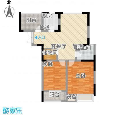 兰陵锦轩五号楼标准层户型