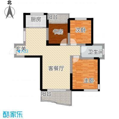 同人・怡和园一期4、11#楼标准层B2户型