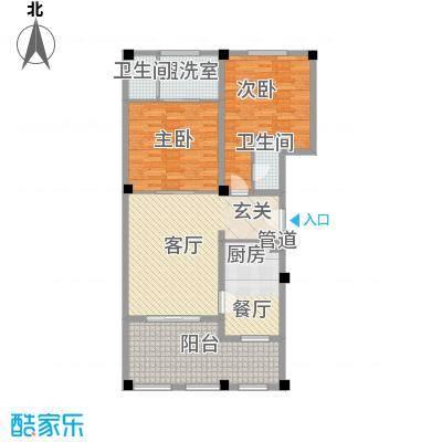 金汤湾海水温泉小镇145.00㎡三期户型2室2厅2卫1厨