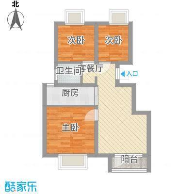 荣盛香缇澜山二期高层D21-A户型
