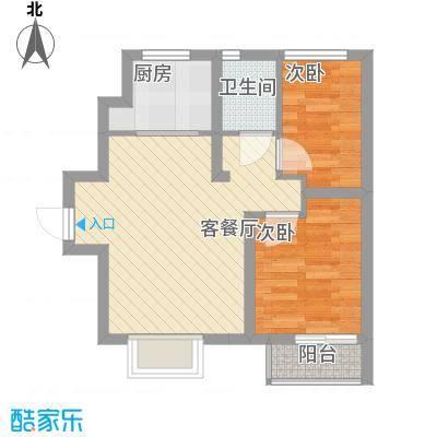 荣盛香缇澜山二期07高层G15-A户型