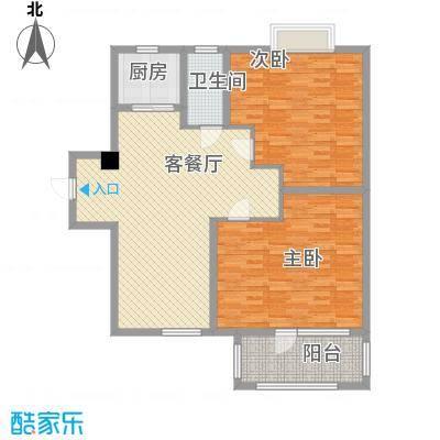 荣盛香缇澜山二期高层G22-A户型