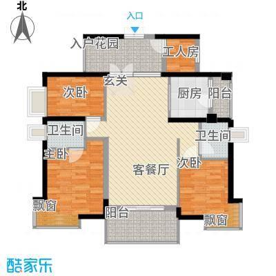 钰海山庄132.77㎡第1栋0户型3室2厅2卫