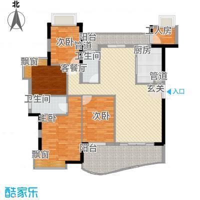 钰海山庄162.33㎡第5栋01、0户型4室2厅2卫