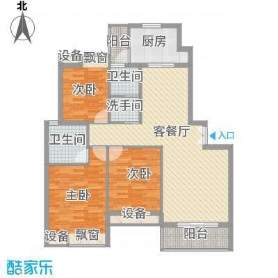 雍福上城18#19#21#25#西户A2-1户型