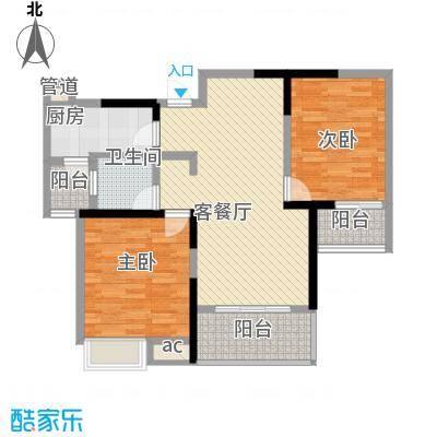 翡翠花园2#楼D3户型