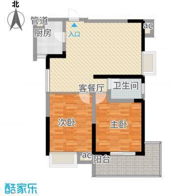 翡翠花园1#楼B户型