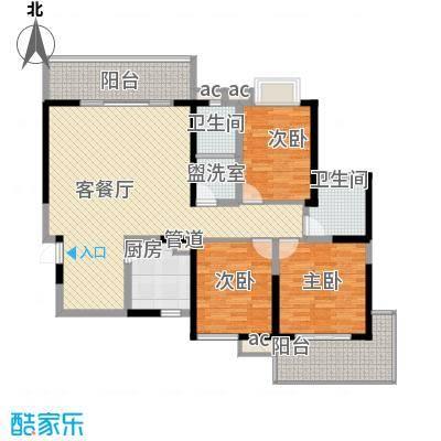 翡翠花园1#楼A1-130户型