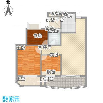 信宇锦润公寓E奇数层户型