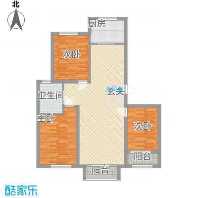 天承锦绣北区B2户型