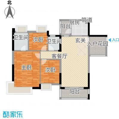 望龙轩1-2栋标准层03户型