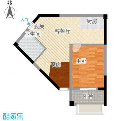 星汇半岛单身公寓户型