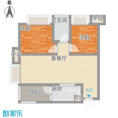 首创鸿恩国际生活区三期超高层1、2号楼标准层C户型