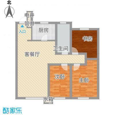 中铁万科香湖盛景户型