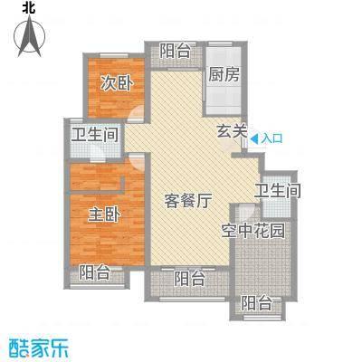 世纪御庭B1栋楼K3户型