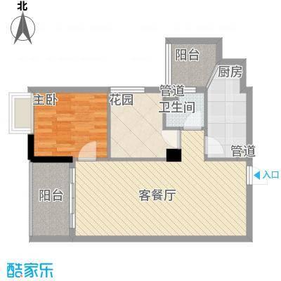 明福智富广场2座04单元户型