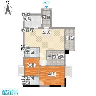 明福智富广场2座02单元户型