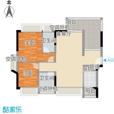 金达锦绣东方2栋01/02户型
